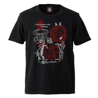 In principio erat Verbum Tシャツ(黒)