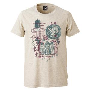 In principio erat Verbum Tシャツ(オートミール)