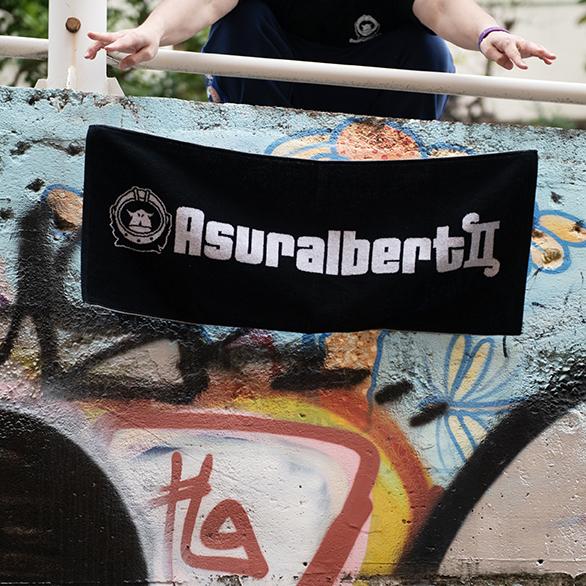 【SALE】Asuralbert II ロゴタオル